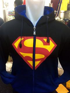 gambar desain terbaru musim depan jaket hoodie biru hitam musim depan gamabr foto photo kamera Jaket hoodie Superman warna biru hitam Superman terbaru di enkosa sport toko online terpercaya