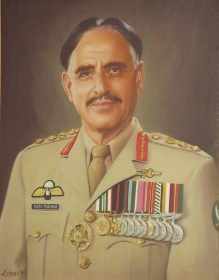 Col Raja Parvez Masood Akhtar