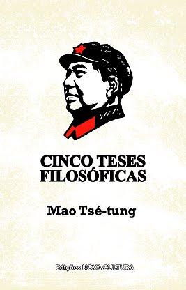 """Livro """"Cinco Teses Filosóficas"""" de Mao Tsé-tung"""
