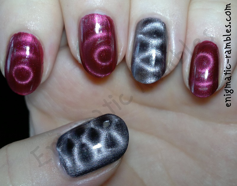 magnetic-nail-polish-mua-Leicester-square-barry-m-burgundy
