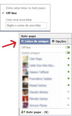 Como Entrar No Facebook E Aparecer Off