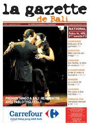 La Gazette de Bali septembre 2012
