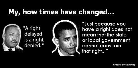 barack obama and martin luther king jr comparison and contrast Barack obama, by virtue of being voted into office, is already hand cuffed to the   this why the contrast between martin luther king and pres  in which tribes and  then civilizations sought power and settled their differences.