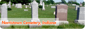 Norristown, Indiana Cemetery
