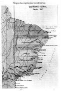 Mapa das Capitanias Hereditárias,séc.XVI