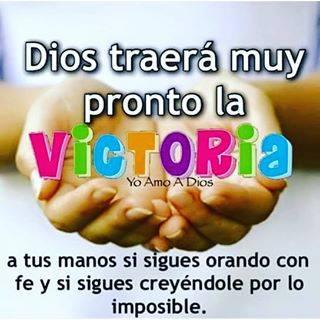DIOS TRAERÁ MUY PRONTO LA VICTORIA IMAGEN CRISTIA