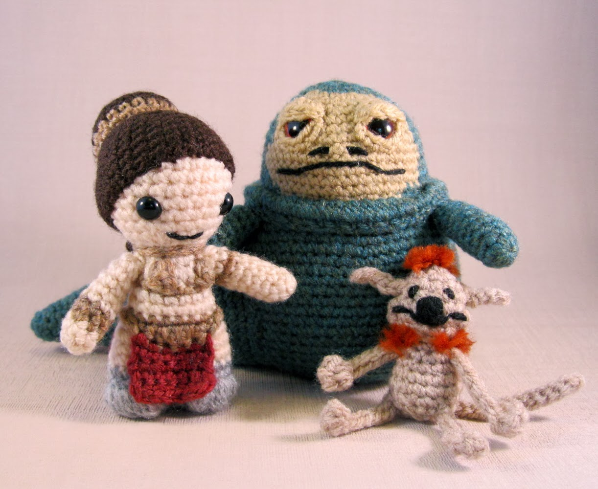 Amigurumi Star Wars Patterns : Lucyravenscar crochet creatures: jabba's palace