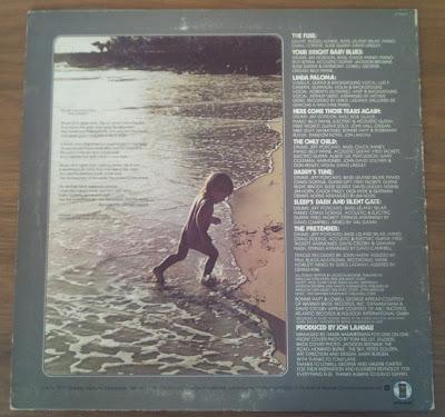 Jackson Browne – The Pretender - back