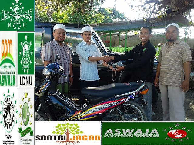 Lagi, Aktivis Dakwah Sarkub NU Papua Menerima Bantuan Speda Motor