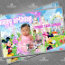 Micky mouse Birthday Tarpaulin + Card Psd Template