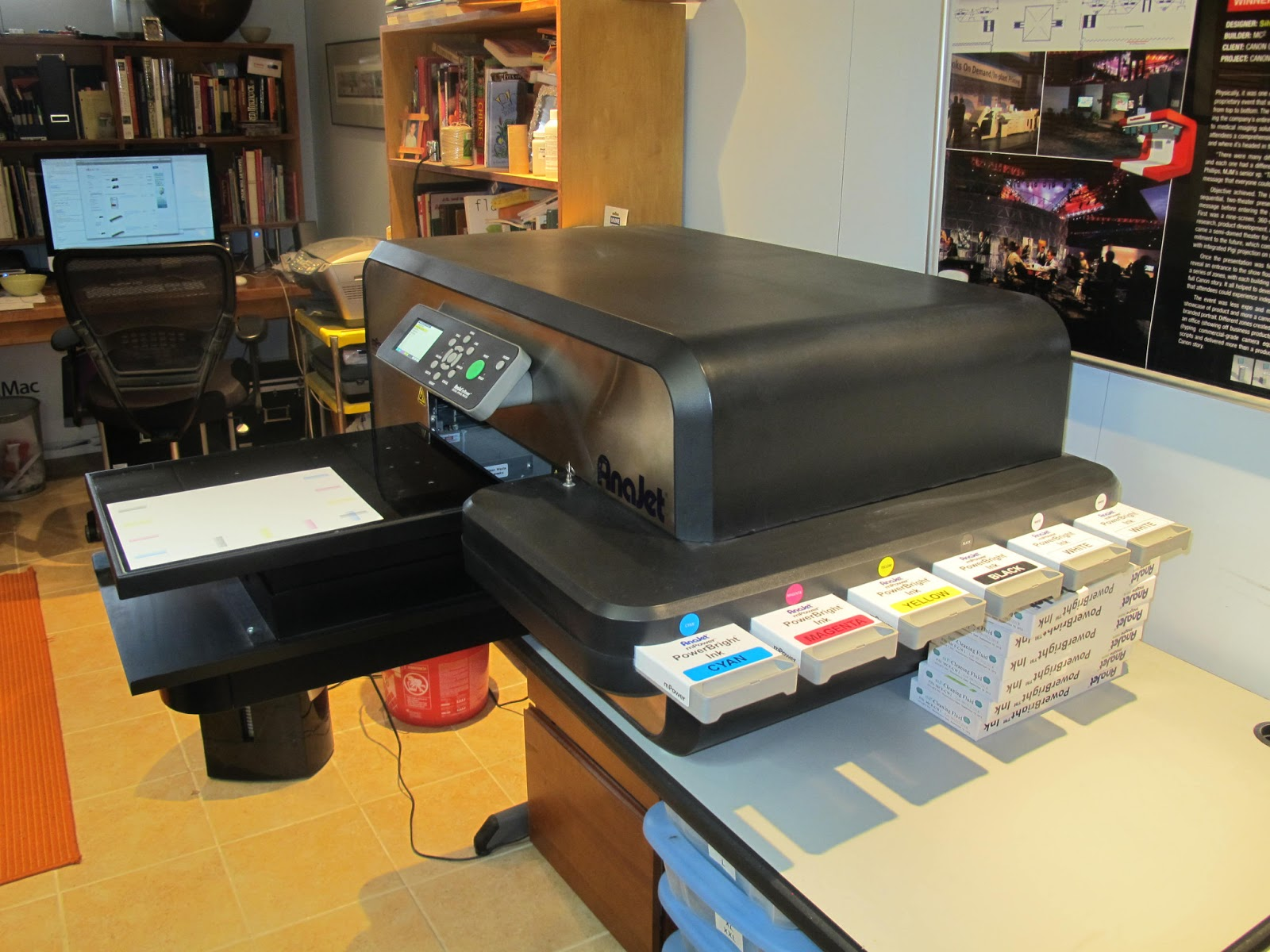Anajet 5mp Garment Printer For Sale Barely Used Used
