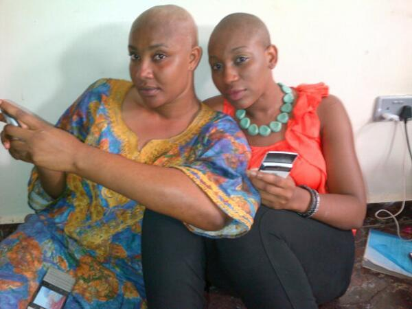 nollywood actress shave hair