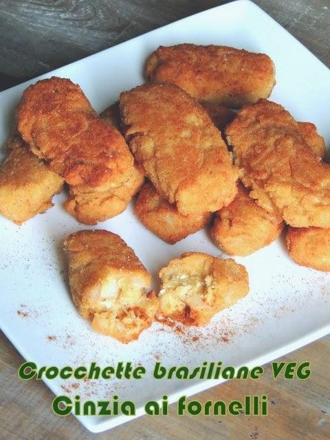 crocchette brasiliane vegan e vegetariane