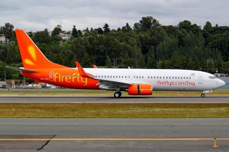syarikat penerbangan Malaysia Fifefly