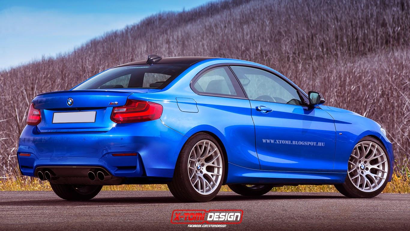 2016 - [BMW] M2 [F87] - Page 3 Bmw+M2+rear2