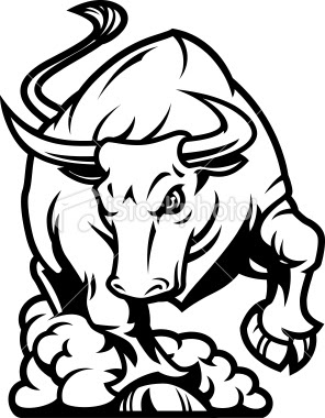 Charging Bull Coloring Pages