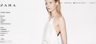 Imagen de la Tienda en Internet de Zara