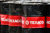 Texaco Oil Barrels (Credit: Joel Saget/AFP/Getty Images) Click to Enlarge.