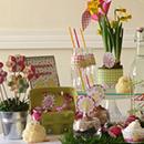sweet table Poussin de Pâques