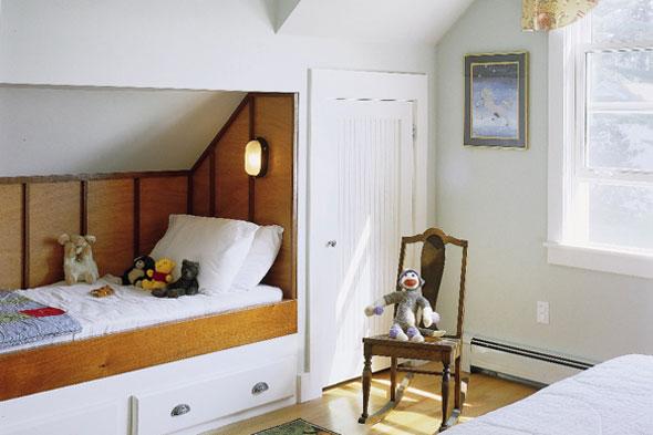 The Sagebrush Cottage Boys Room Built In Beds