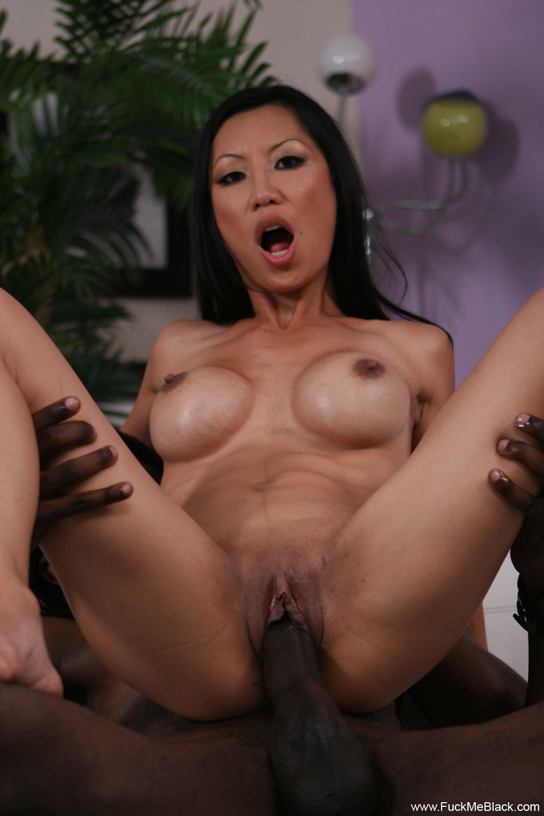 asian and black cock