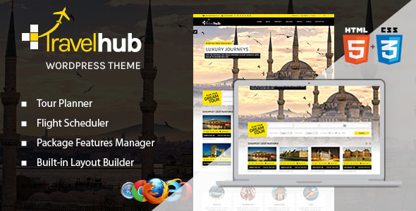 Travelhub - WordPress Travel Agency Theme