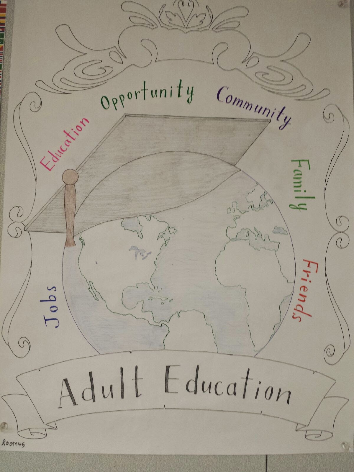 San Mateo Adult School: 2014 Adult Education Week Poster Contest