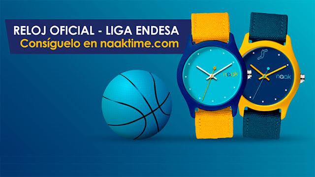 La ACB llega a un acuerdo con Naak para comercializar relojes oficiales