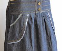 Skirt Jeans Labuh RM327-3