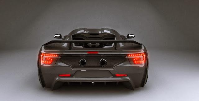 Genty Akylone supercar