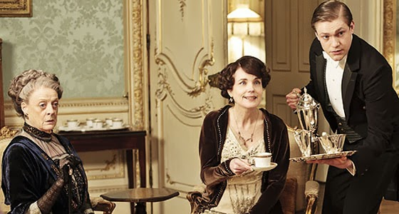 Drinking Tea on Downton Abbey