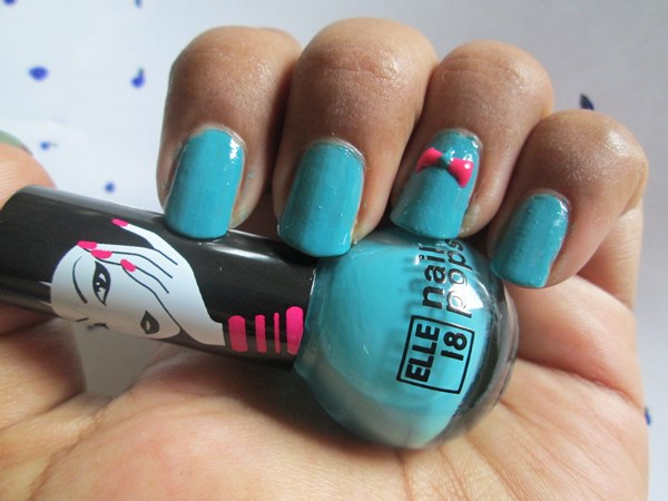 Elle 18 Nail Pops Shade No.53 Review and NOTD