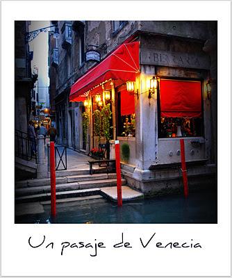 Un escaparate de Venecia