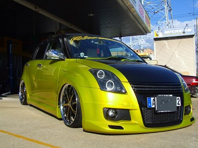 Suzuki Swift Modification