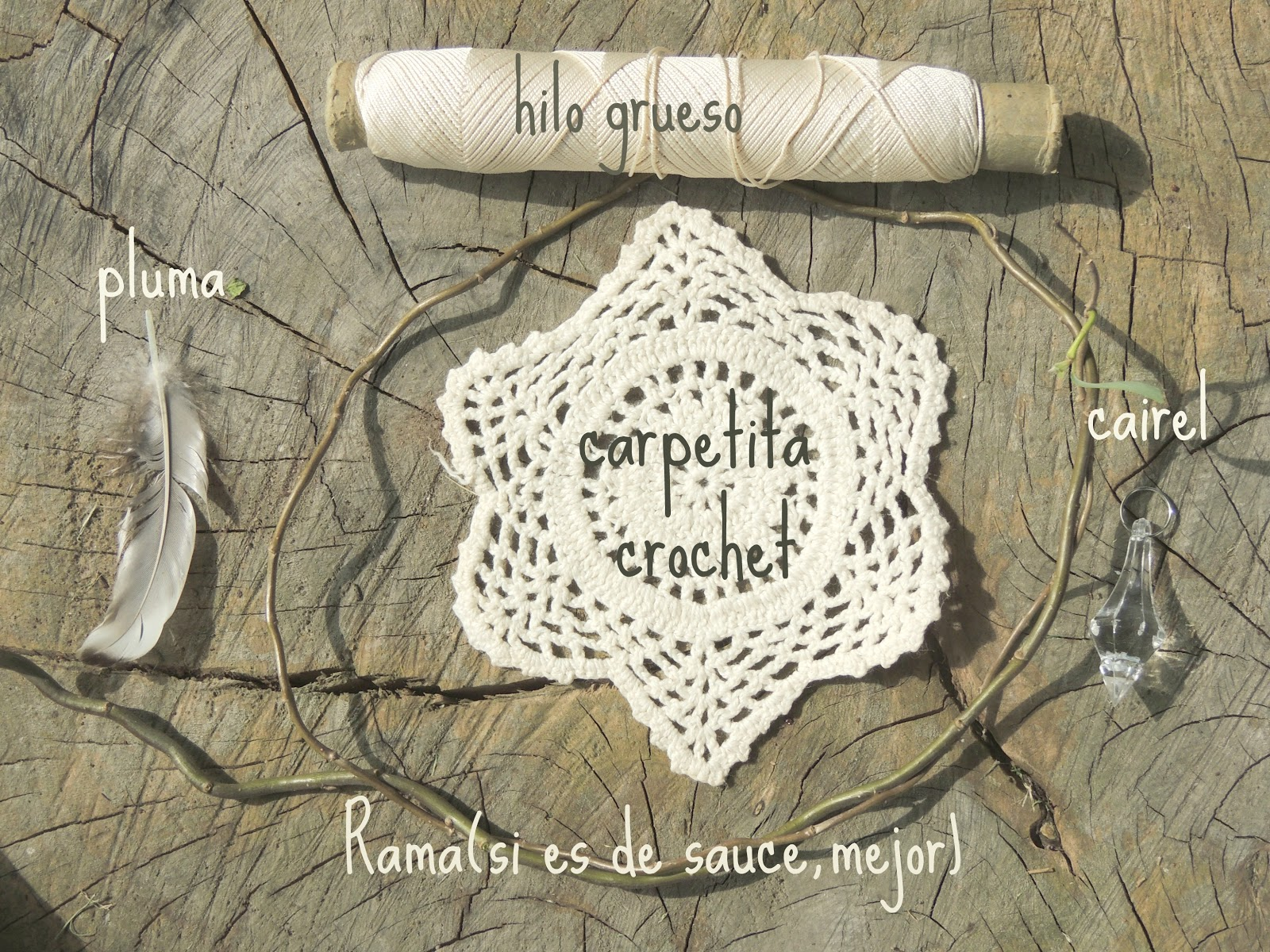 Coraz n x sur atrapa sue os crochet tutorial f cil f cil - Donde colocar un atrapasuenos ...