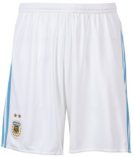 2015-2016 ARGENTINA HOME ADIDAS FOOTBALL SHORTS
