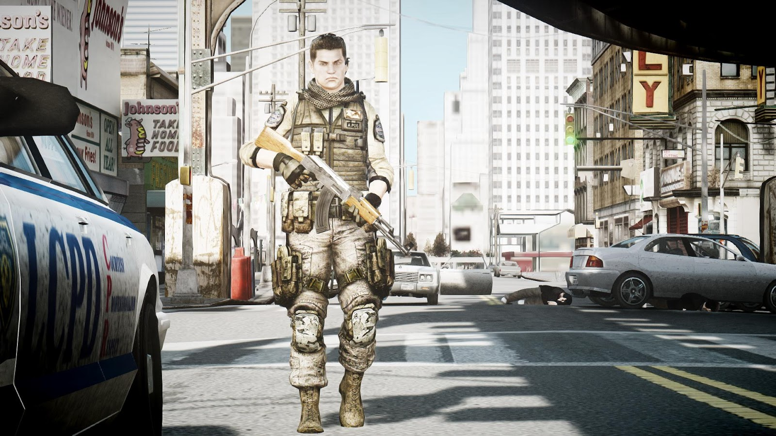 GTA IV MODS : Resident Evil 6 Piers Nivans ~ Grand Theft Auto