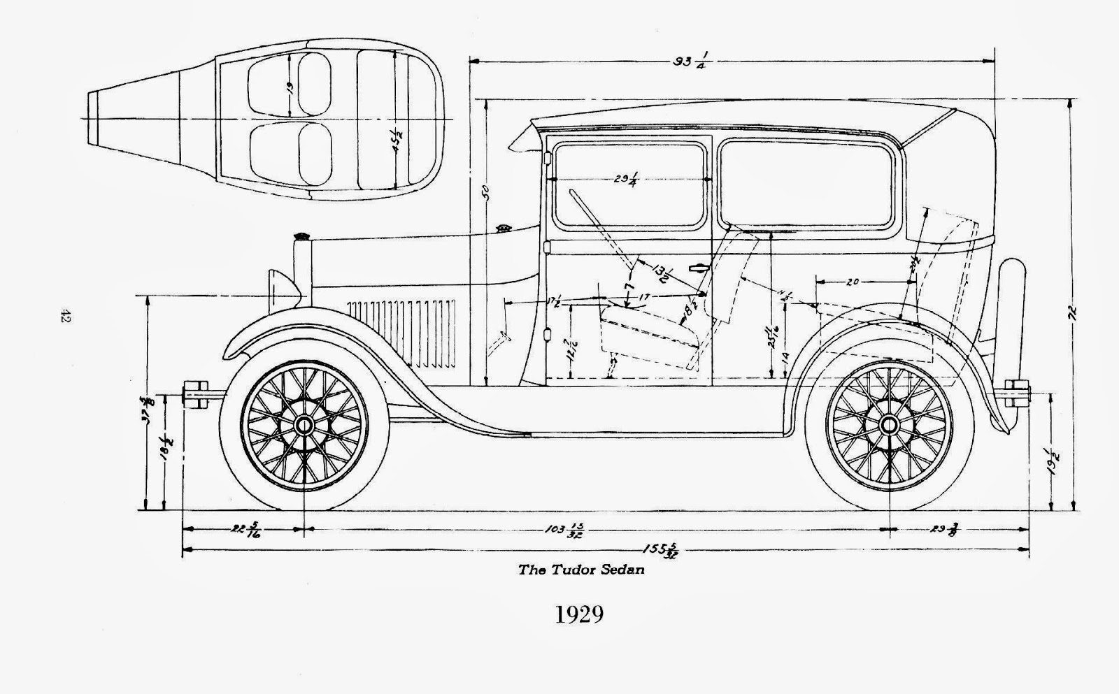 vaphead  cool model a ford drawings