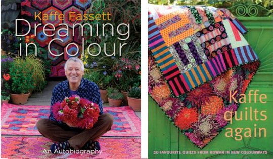 Kaffe Fassett: Dreaming in Colour and Kaffe Quilts Again Competition : kaffe quilts again - Adamdwight.com