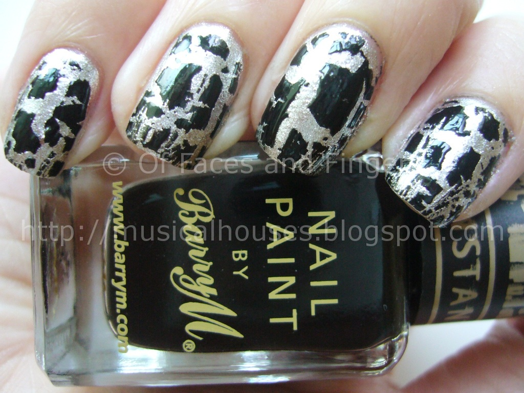 Barry M Instant Nail Effects: Black and Silver Crackle! - of Faces ...