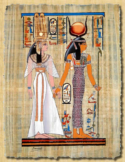 Ancient egyptian clothing for women