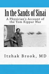 "Dr. Brook's book:""In the sands of Sinai, a physician account of the Yom Kippur War"""