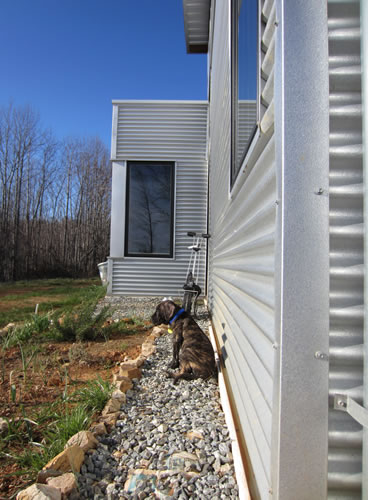 Modern Prefab Home Passive Solar With Puppy Included