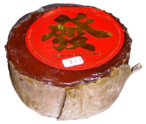 kue keranjang sering disingkat kue ranjang yang disebut juga sebagai