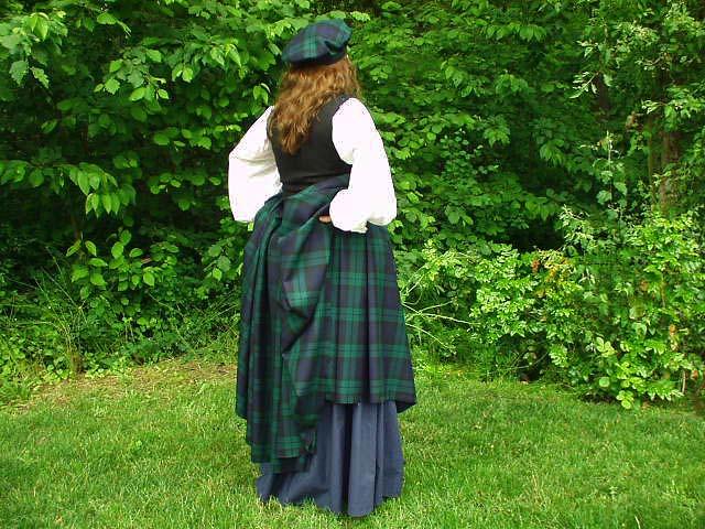 Женская Одежда 15-16 Век Шотландия