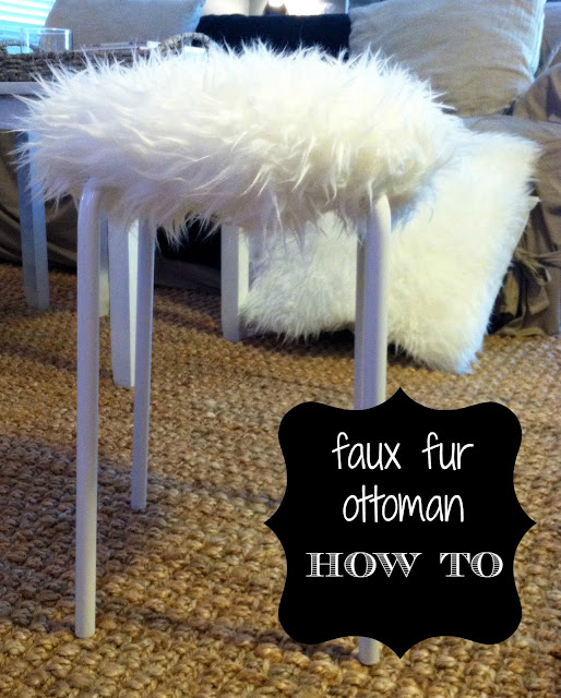 Hopes Amp Dreams Fur Ottoman Pillow Diy How To