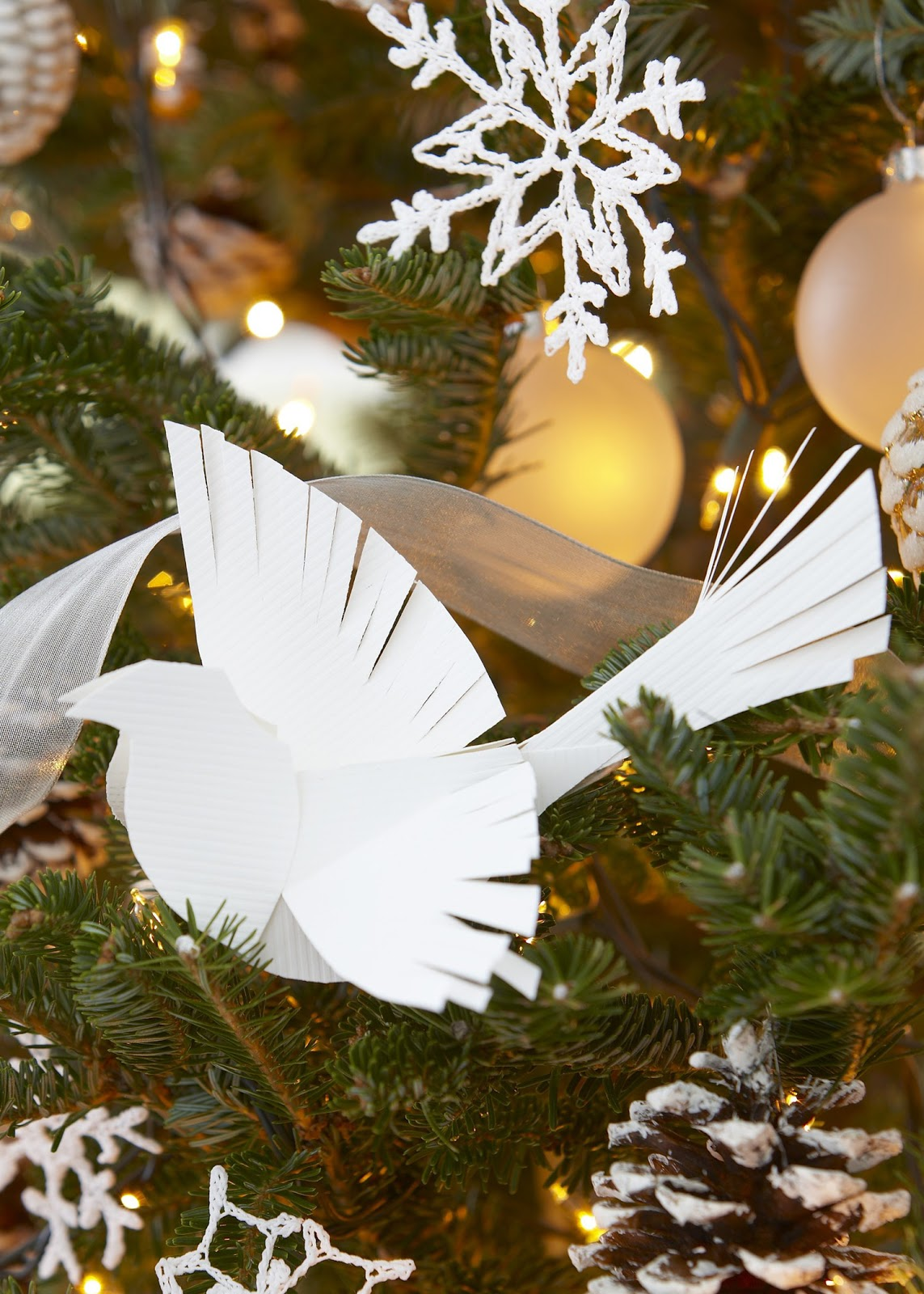 Karin Lidbeck 12 Day Countdown Making A Paper Bird Ornament