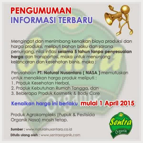 informasi-harga-terbaru-nasa-natural-nusantara