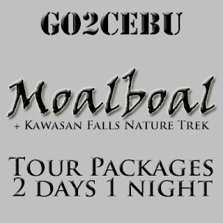 Moalboal + Kawasan Falls Nature Trek in Cebu Tour Itinerary 2 Days 1 Night Package