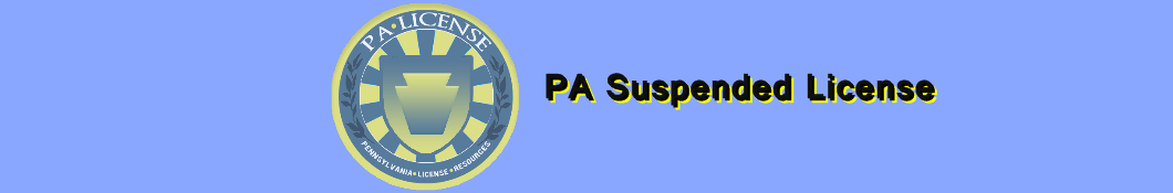 PA Suspended License